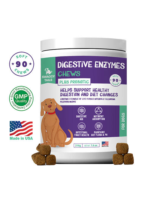 Pet Supplements Swaggy Tails Digestive Enzyme Bites