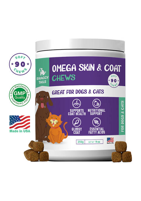 Pet Supplements Swaggy Tails Omega Skin & Support