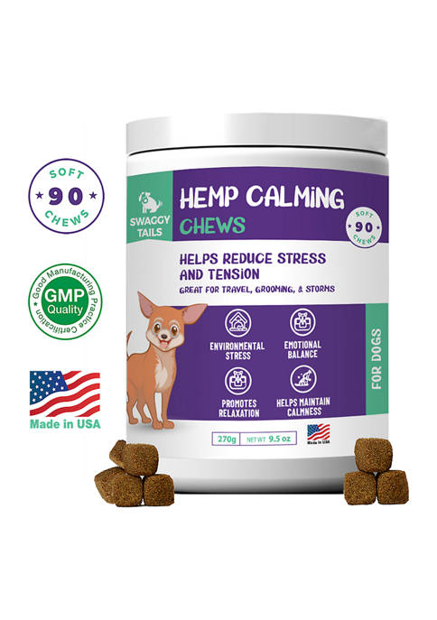 Pet Supplements Swaggy Tails Calming Chews for Dogs