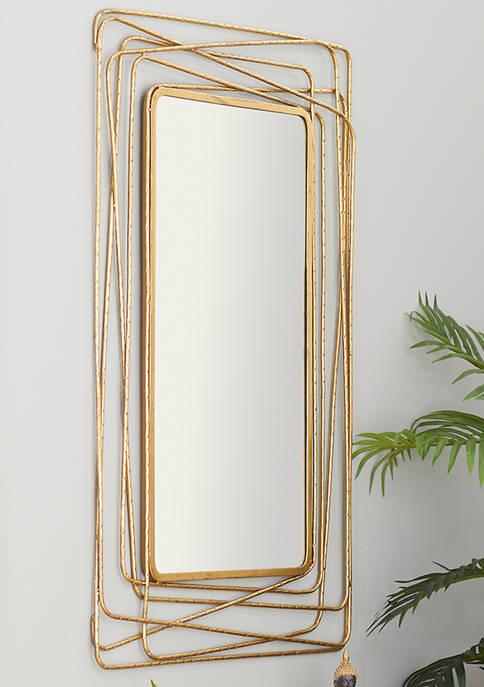 Metal Contemporary Wall Mirror