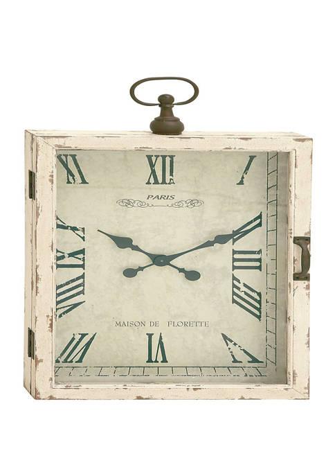 Wood Vintage Wall Clock