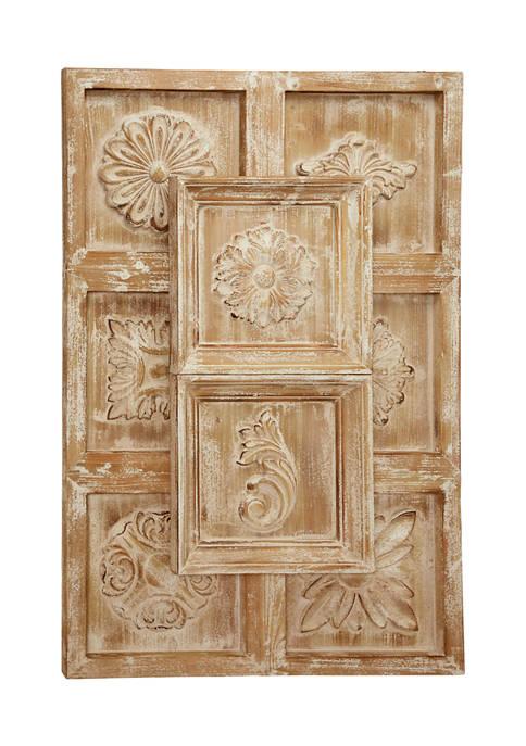 Wood Vintage Wall Décor
