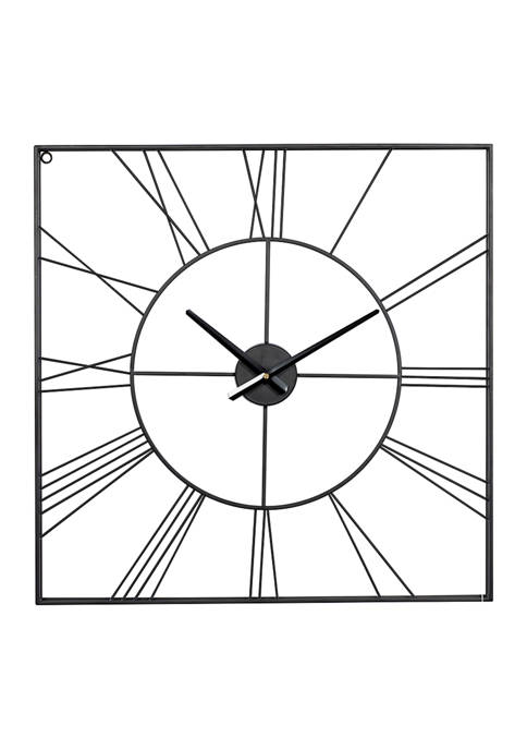 Iron Industrial Wall Clock