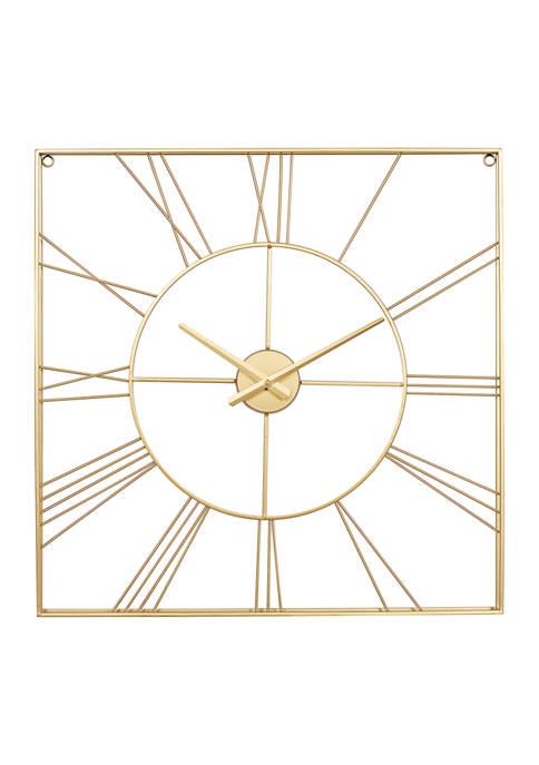 Iron Glam Wall Clock