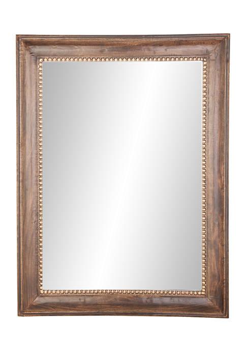 Mango Wood  Wall Mirror