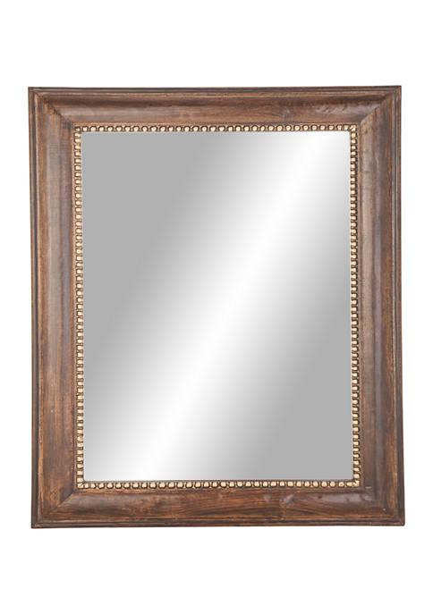 Monroe Lane Mango Wood Wall Mirror