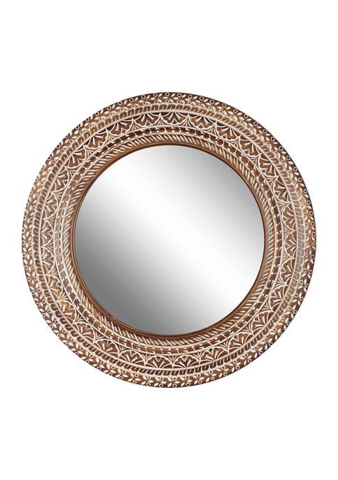 Monroe Lane Wood Wall Mirror