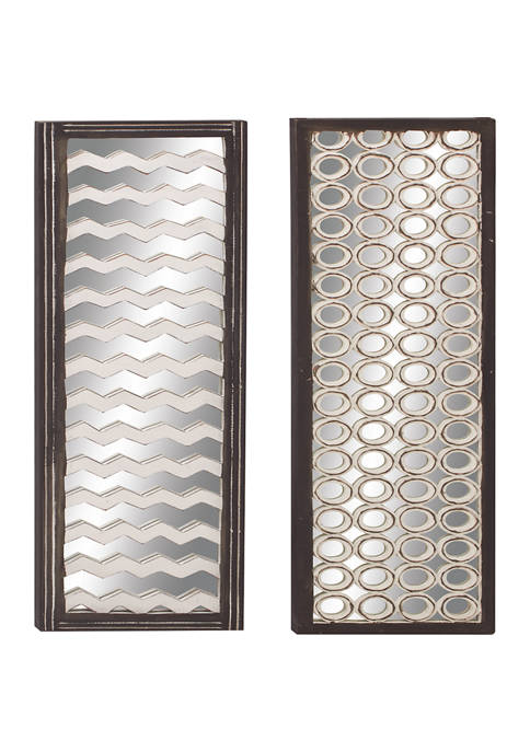 Wood Wall Décor - Set of 2