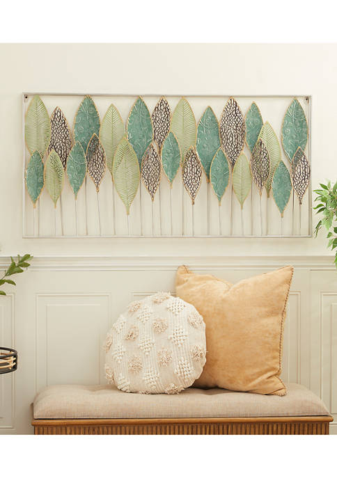 Multi-Colored Metal Traditional Wall Décor