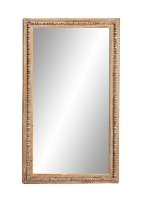 Wood Bohemian Wall Mirror