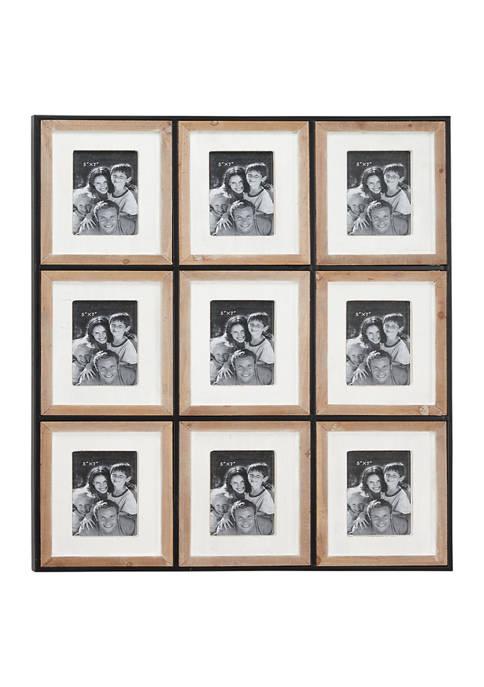 Wood  Wall Photo Frame