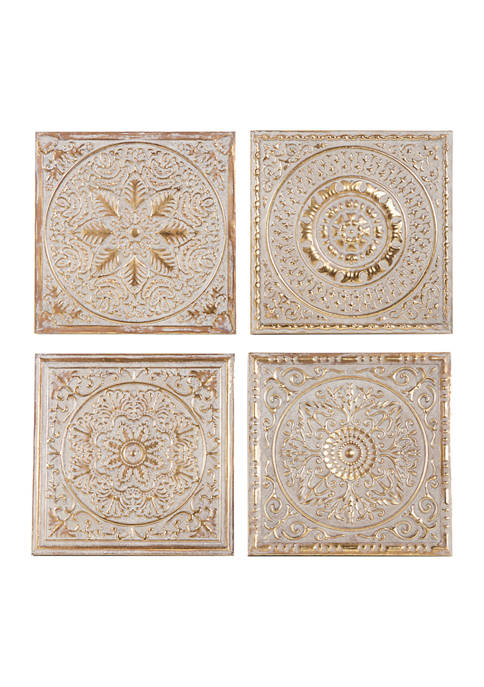Iron Eclectic Wall Décor - Set of 4