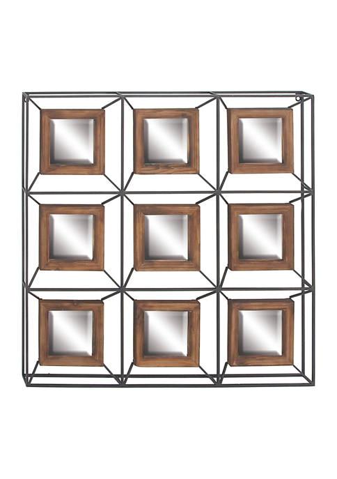 Fir Contemporary Wall Mirror