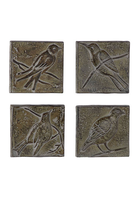Dolomite Rustic Wall Décor - Set of 4