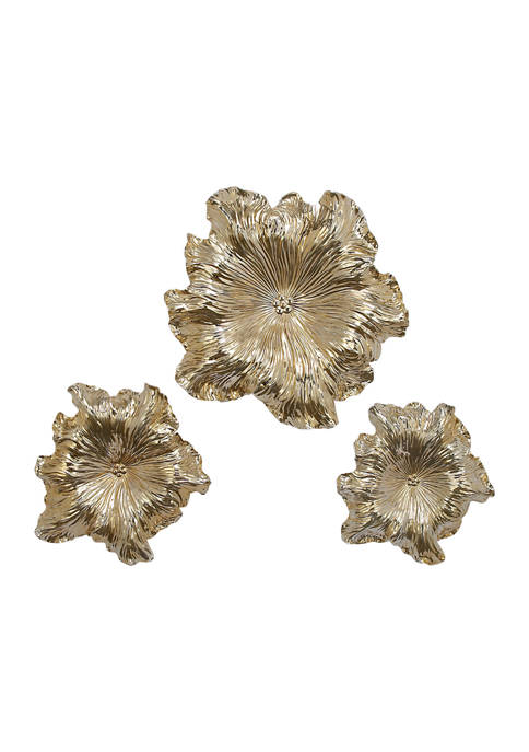 Polystone Eclectic Wall Décor - Set of 3