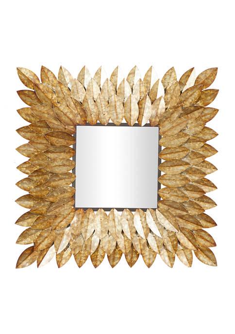 Tin Rustic Wall Mirror
