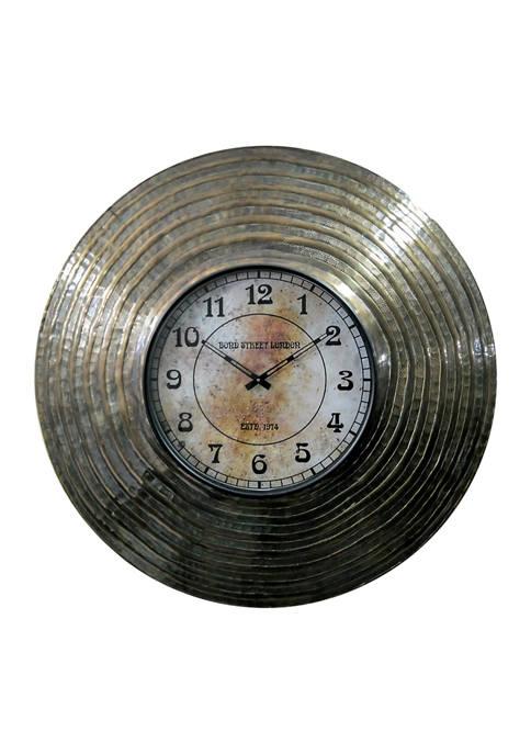 Aluminum  Wall Clock