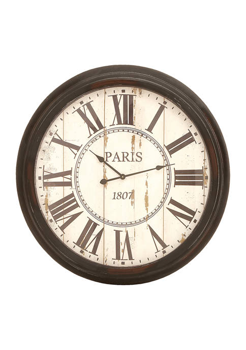 Iron Vintage Wall Clock