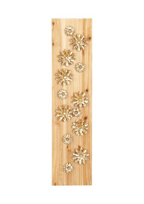 Wood Glam Wall Décor