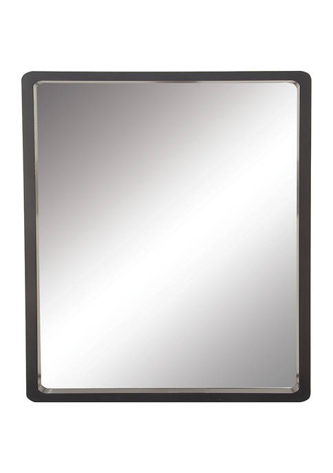 Wood Contemporary Wall Mirror