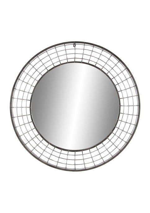 Iron Industrial Wall Mirror