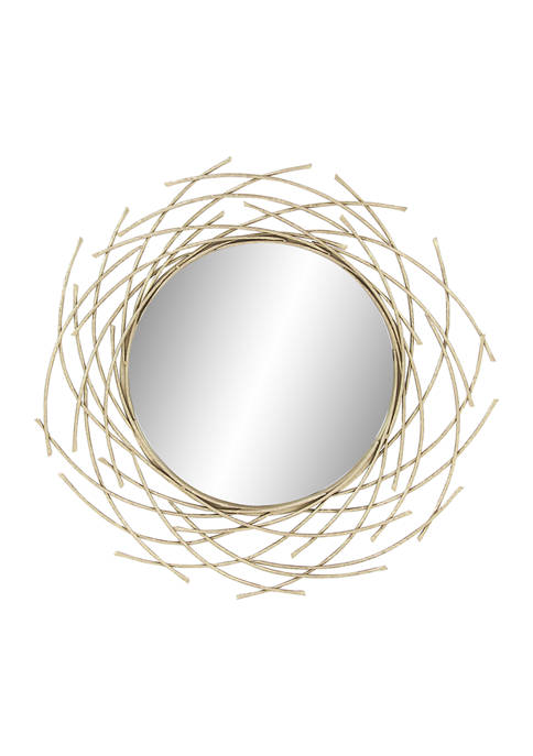 Monroe Lane Iron Glam Wall Mirror