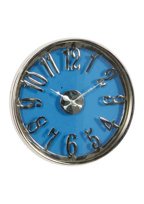 Aluminum Contemporary Wall Clock