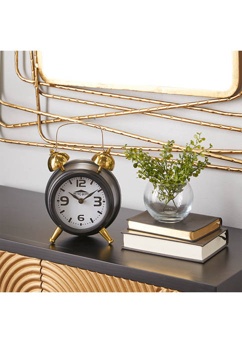 Stainless Steel Traditional Clock