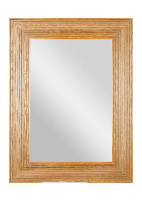 Wood Traditional Wall Mirror