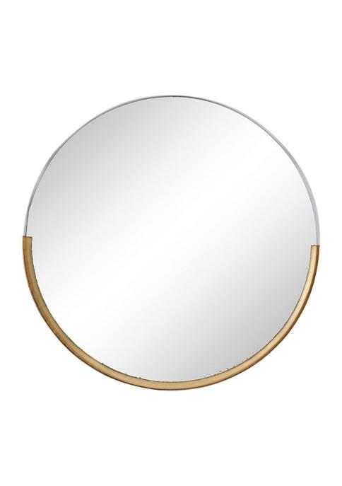 Monroe Lane Iron Modern Wall Mirror