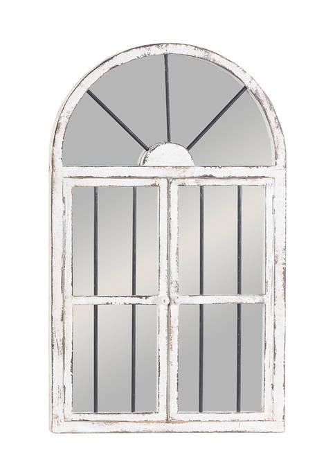 Wood Vintage Wall Mirror