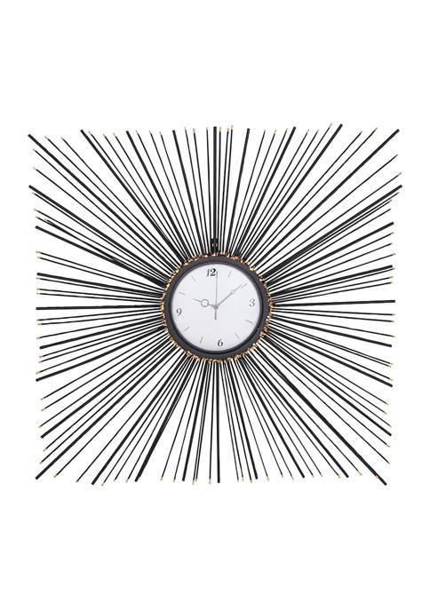 Iron Modern Wall Clock