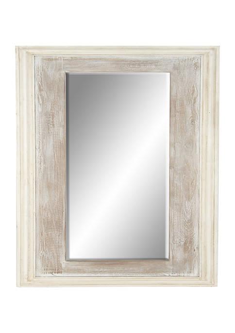 Pine Farmhouse Wall Mirror
