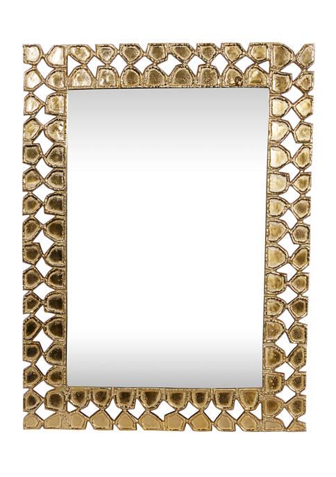 Aluminum Contemporary Wall Mirror