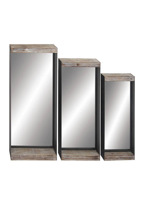 Monroe Lane Iron Wall Mirror