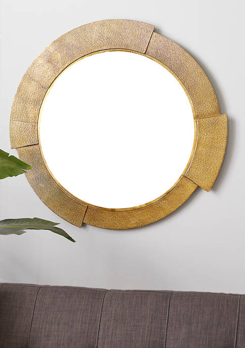 Monroe Lane Aluminum Contemporary Wall Mirror