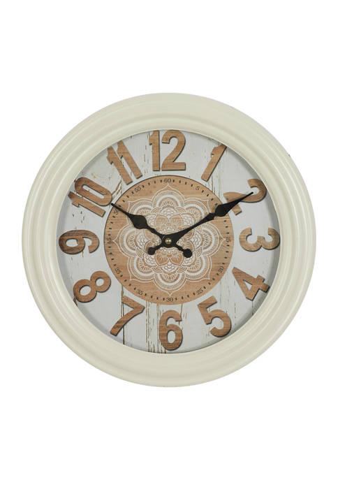 Iron Farmhouse Wall Clock