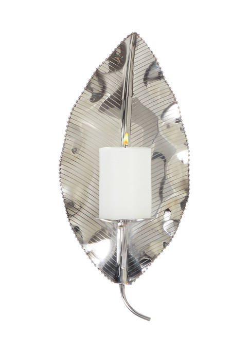 Stainless Steel Contemporary Wall Sconce