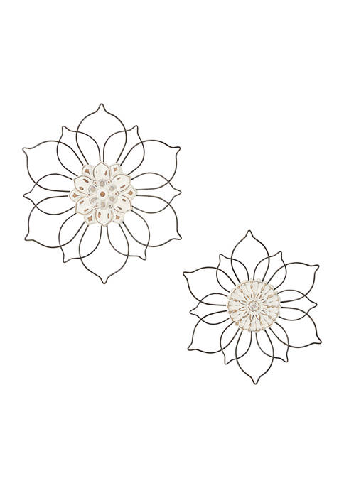 Iron Traditional Wall Décor - Set of 2