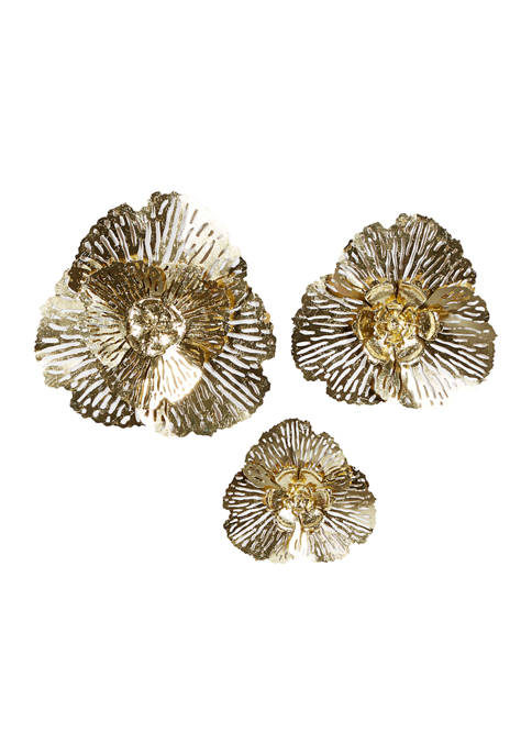 Iron Glam Wall Décor - Set of 3