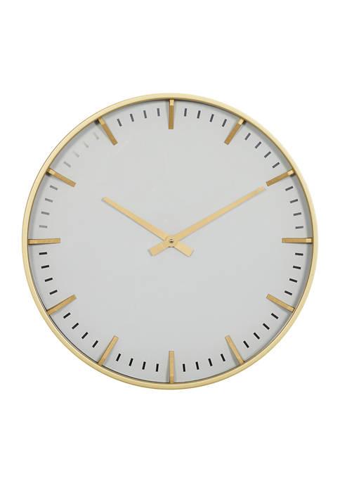 Glass Contemporary Wall Clock