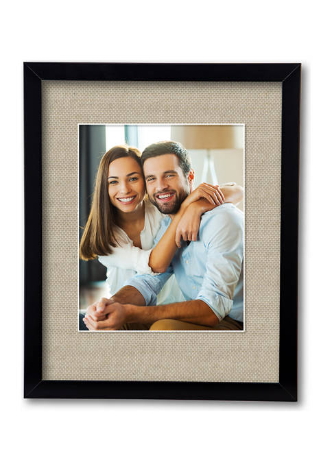 Harvest Collection Black 11 in x 14 in, 8 in x 10 in Opening Wall Frame