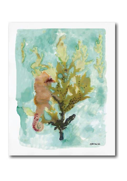 Courtside Market Seahorse I 20x24 Canvas Wall Art