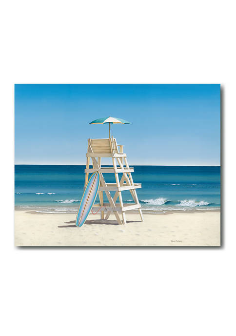 Courtside Market Lifeguard Stand 16 in x 20