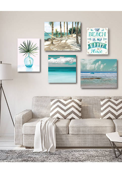 Tropical Tranquility Canvas Set