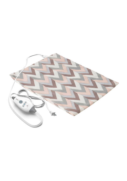 PureRelief Express Designer Series Electric Heating Pad Desert Herringbone