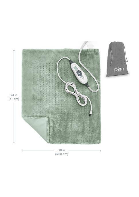 Weighted Warmth Extra-Wide Weighted Heating Pad
