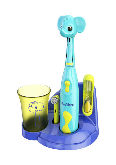Kids Electric Toothbrush Ollie the Elephant Set