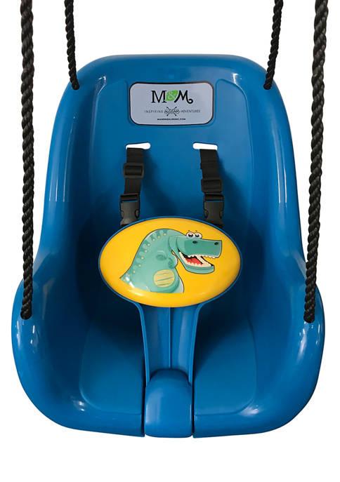 M&M Sales Enterprises Dinosaur Toddler Swing