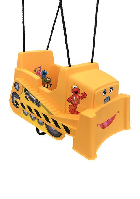 Sesame Street Bulldozer Toddler Swing